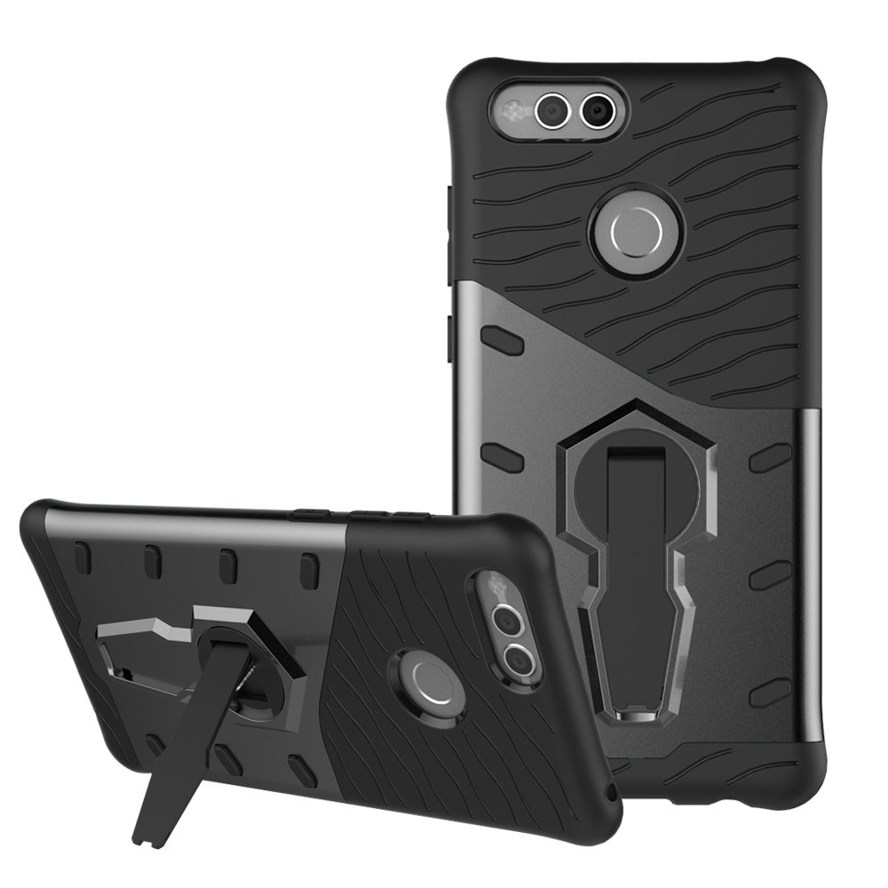 separation shoes 93782 f9a59 Honor 7X Case SunRemex Durable Armor with Full Body Protective and Heavy  Duty Protection and 360 Degree Rotating Kickstand Design for Huawei Honor  7X ...