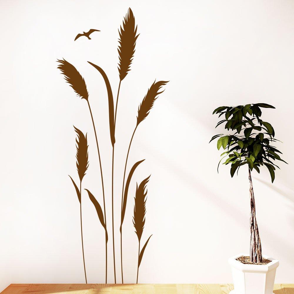 Wundervoll Wandtattoo Gräser Sammlung Von Klebeheld® Gräser | Grashalme | Pflanze Größe