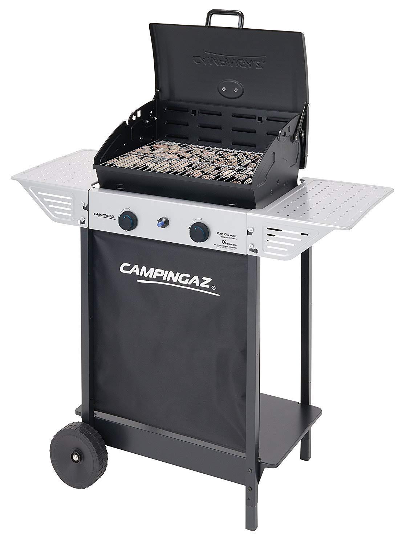 Campingaz Xpert 100 L Plus Rocky Barbacoa Gas para Piedra Volcanica + Campingaz - Piedras Lava, 3 kg