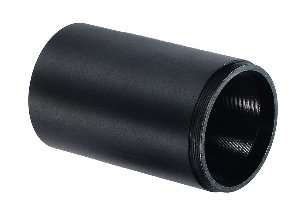 UTG 2.4-Inch Tactical Sunshade for 40mm Objective Scopes, Black Leapers Inc. SHD-H2440