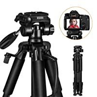 ESDDI 55-inch Camera Tripod w/Carrying Bag and Mounting