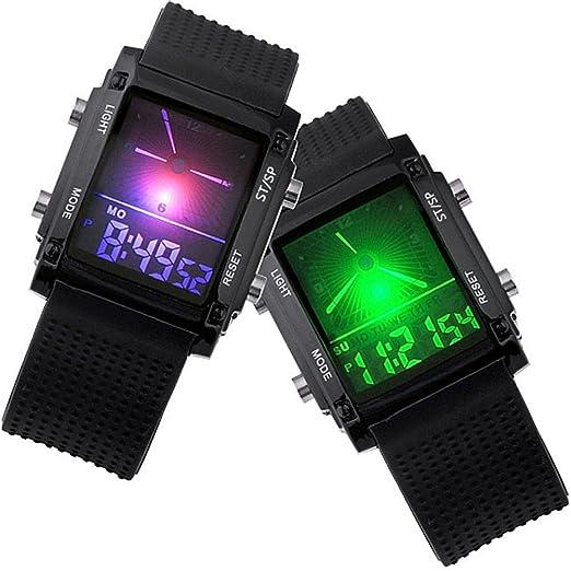 JS Direct JWA - Reloj para hombres, correa de silicona: Amazon.es: Relojes