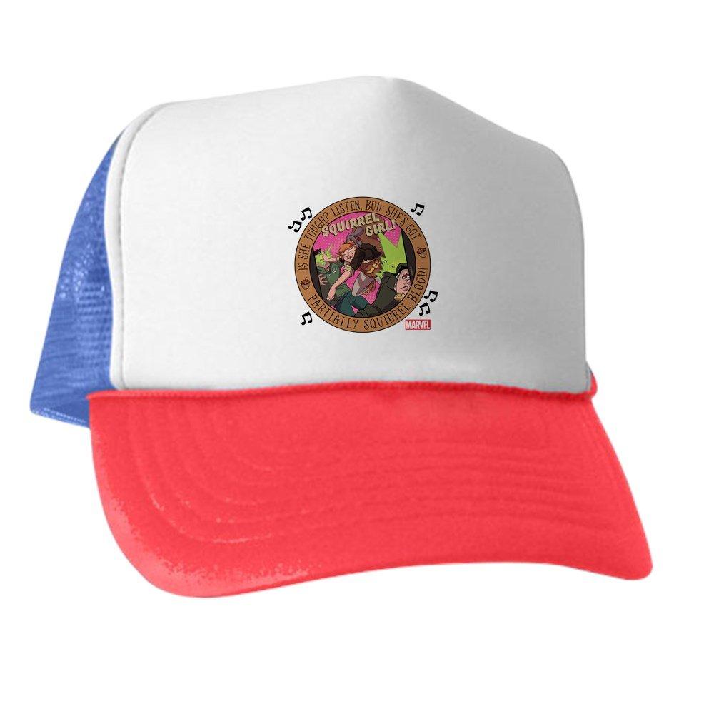 b2b5b542efada Amazon.com  CafePress Squirrel Girl Action Trucker Hat