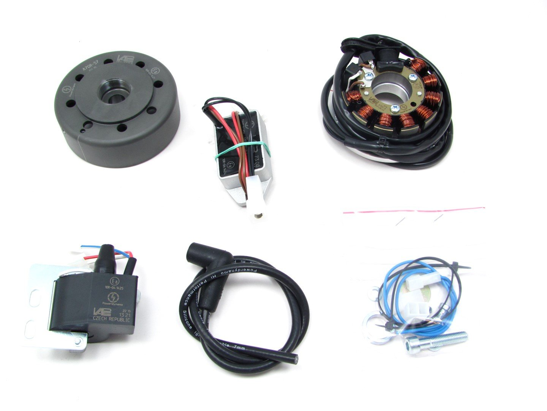 Amazon.com: Powerdynamo (MZ-B) Ignition System Stator Kawasaki KDX ...