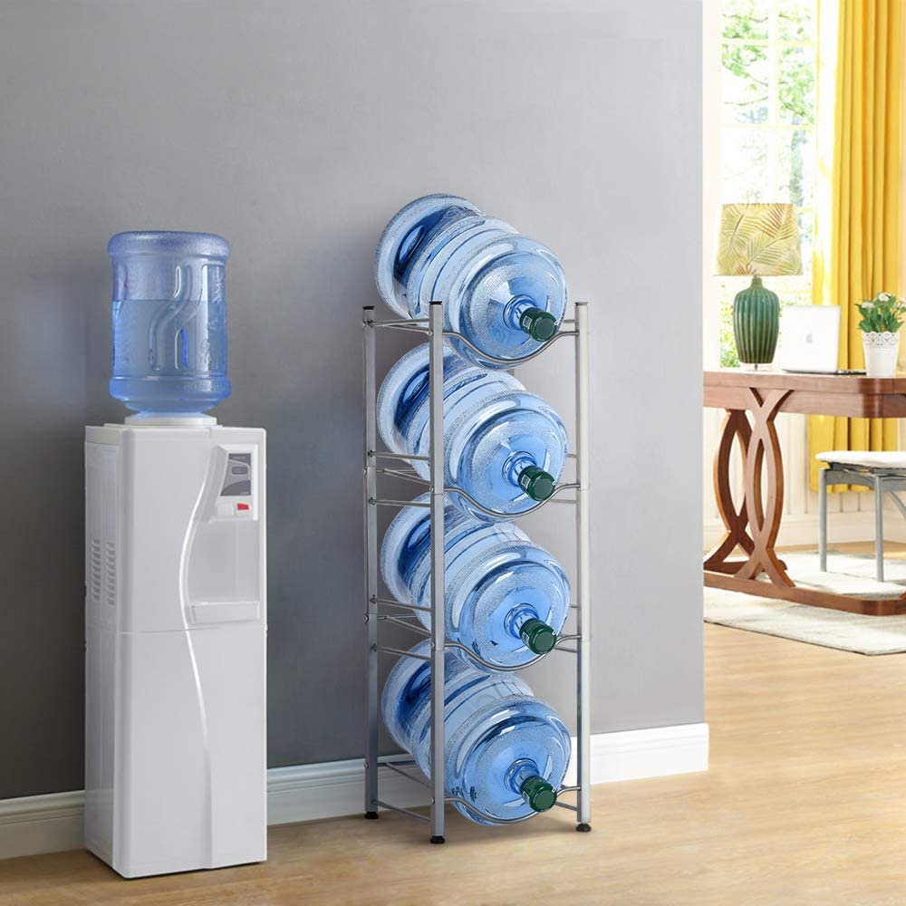 3//4//5 Layer Water Cooler Jug Rack 5 Gallon Water Bottle Storage Rack Detachable