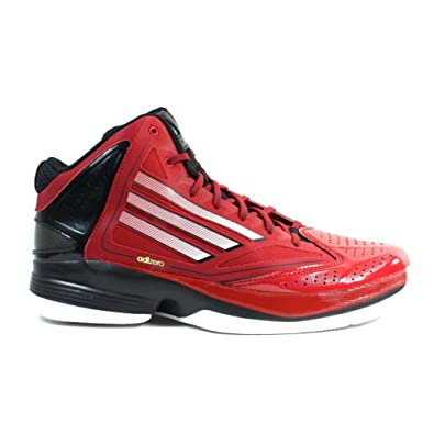 new product dc22b edfd7 adidas New Adizero Ghost 2 RedWhtBlack Mens 15