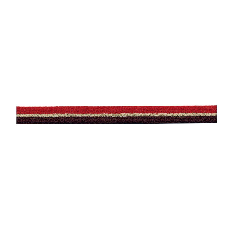 S.I.C. ストライプパイルテープ 10mm C/#10 ビターオレンジ×サンドベージュ×コーヒーブラウン 1反(30m) SIC-1201   B07LG2VJDW
