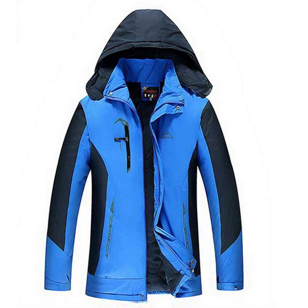 Sharemen Men's Hooded Jacket Warm Winter Coat