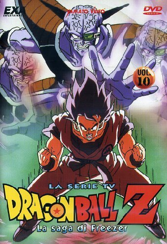 Dragon Ball Z - La Saga Di Freezer #10 (Eps 37-40) [Import italien] (Dragon Ball Z La Saga De Freezer)