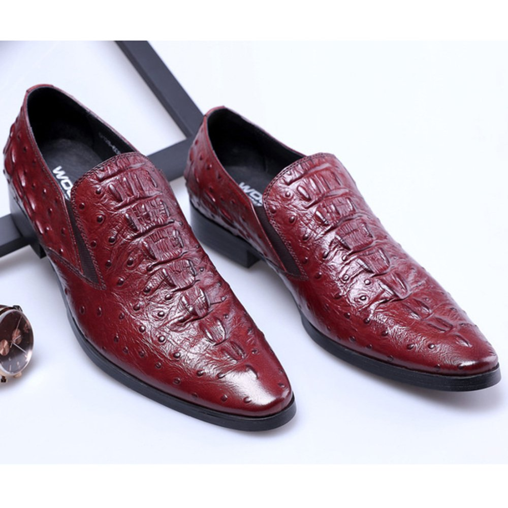 RSHENG RSHENG RSHENG Herren Kleider Leder Business Kleid Schuhe Derby Schuhe Arbeitsschuhe c1b431
