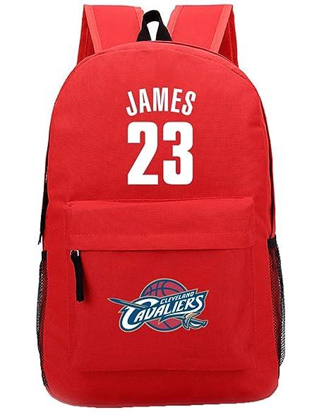 cmbyn NBA Cavaliers Lebron James 23 Mochilas Teen Estudiantes Mochila Escolar Viaje Mode schultasche Original Grande
