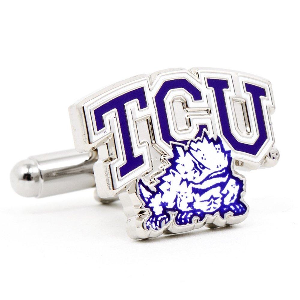 NCAA Texas Christian Horned Frogs Cufflinks