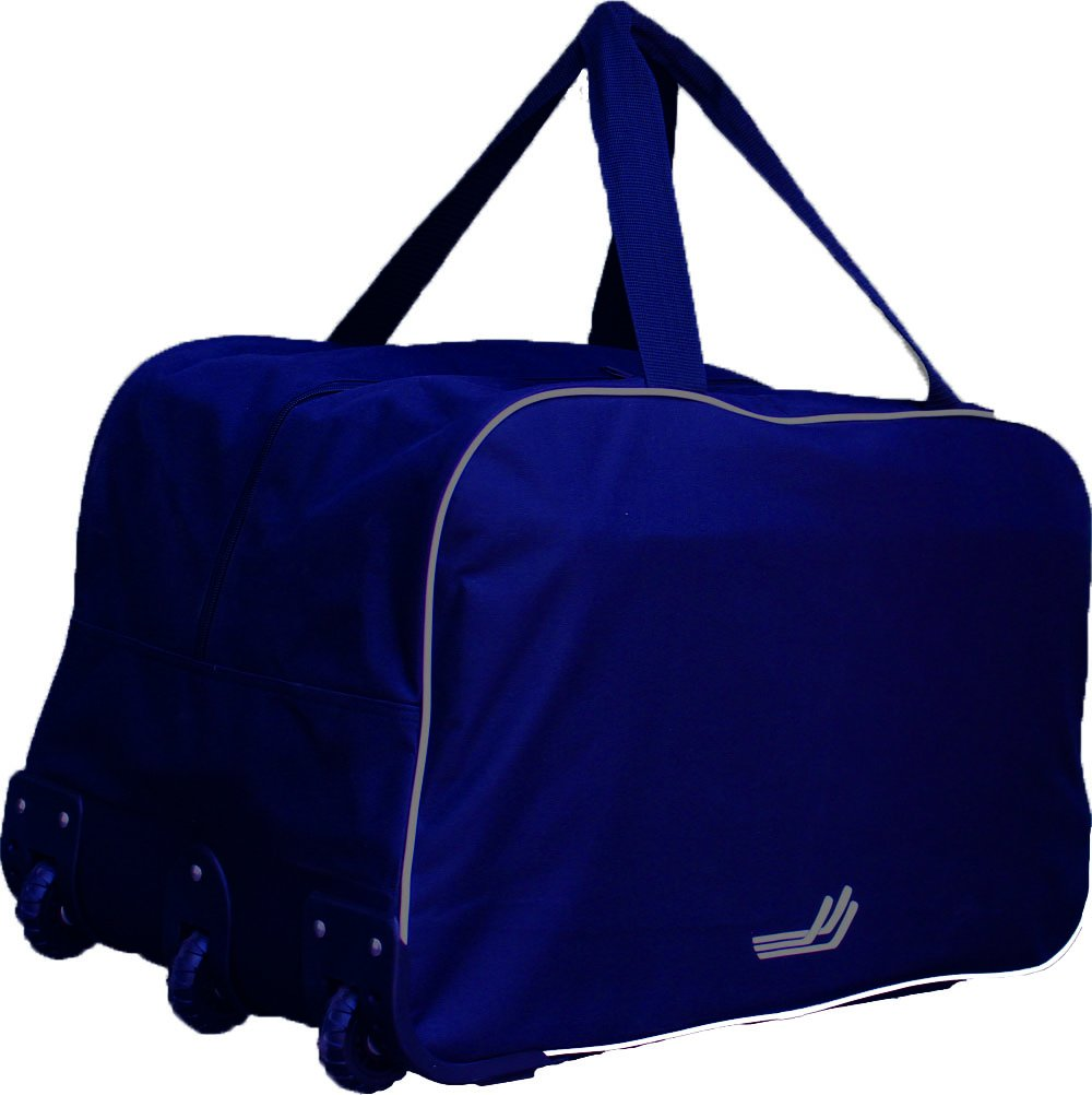 JAMM Sports 26'' Wheel Hockey and Multi-Purpose Bag, Navy