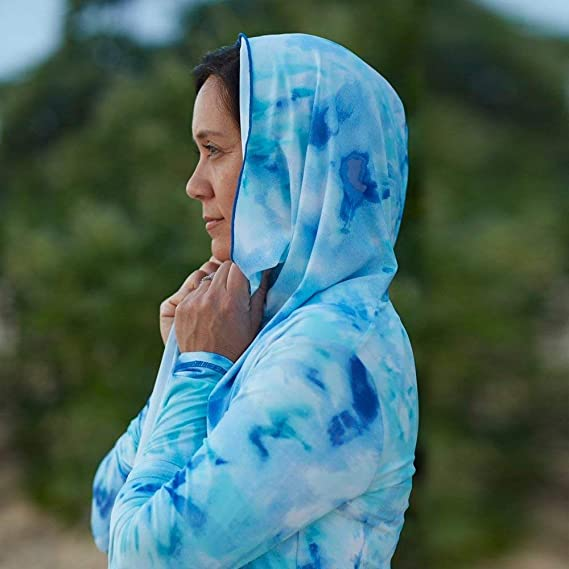 UV SKINZ UPF 50 Womens Pullover Hoodie