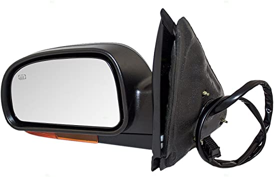 New Passenger Power Side Mirror Heat Amber Signal Chevy Buick GMC Oldsmobile SUV