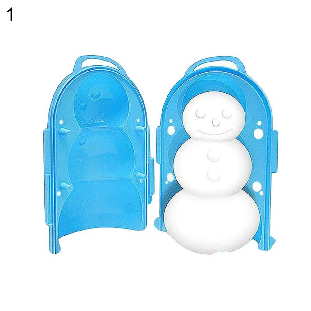 Oce180anYLV Cartoon Schneeball Clip Winter Ball Maker Schnee Formwerkzeug Outdoor Sports Kinder Spielzeug 1