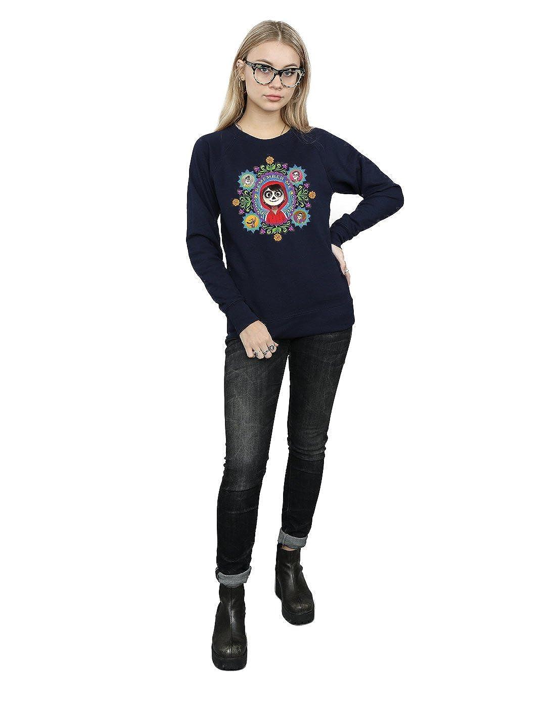 Disney Womens Coco Remember Me Sweatshirt