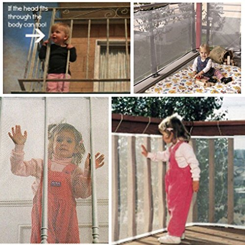EITC Children Thickening Fencing Protect Net Balcony Child Fence Baby Safety Fence Safety Net For Balcony