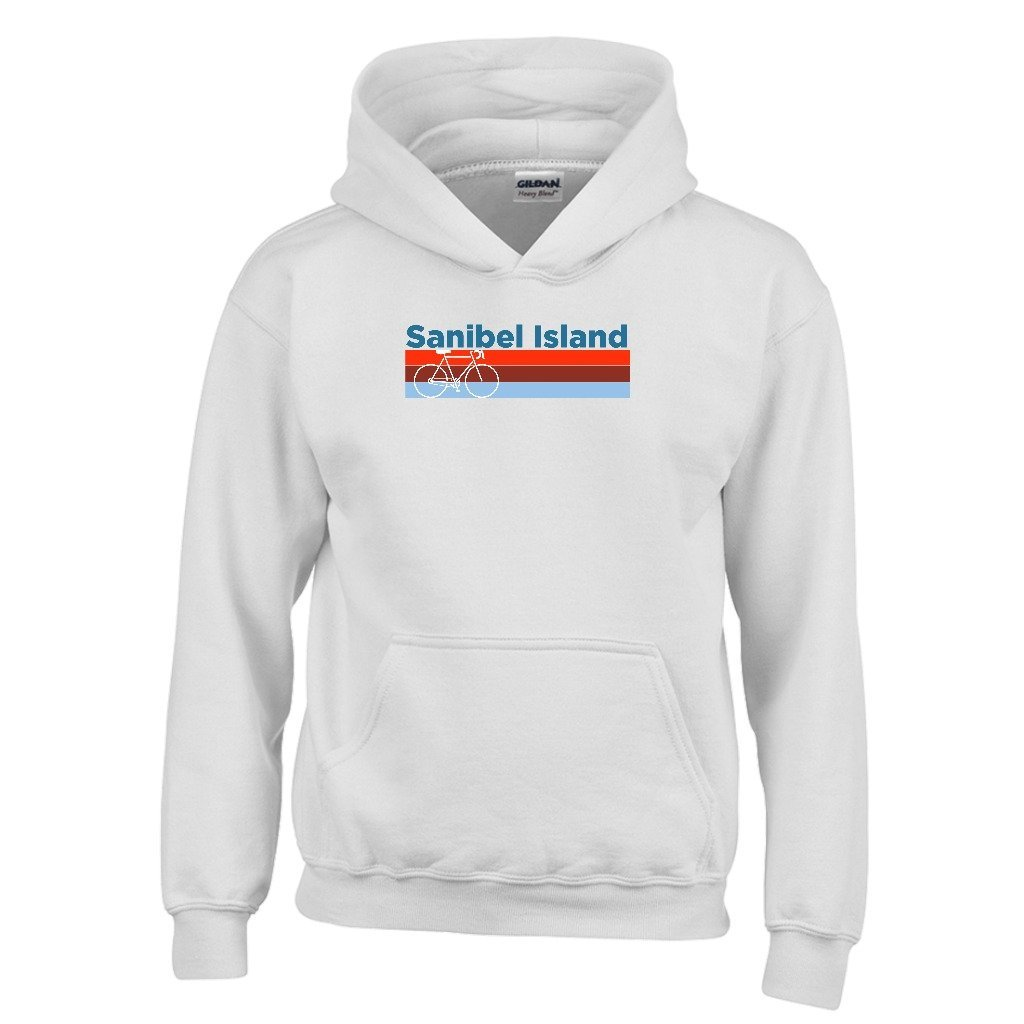 Tenn Street Goods Sanibel Island Retro Bike /& Mountain Bike Youth Hoodie Florida Kids Sweatshirt
