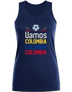 Green Turtle T-Shirts Camiseta para Hombre - Vamos Colombia! Apoya a la Selección Colombia en el Mundial!