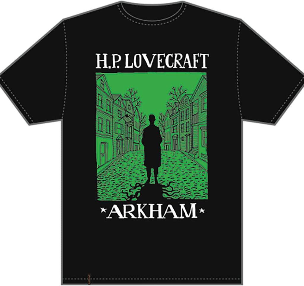 Edge Entertainment- Camiseta Visit Arkham, XL (EDGTSH002-XL)