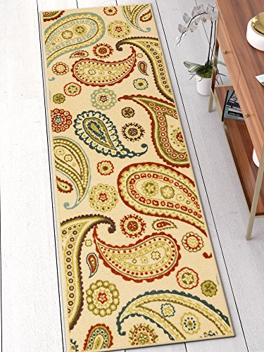Well Woven 6502-2L Kings Court Flora Modern Ivory Paisley 2'7