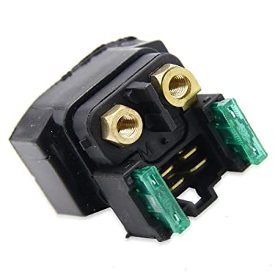 Amhousejoy Starter Relay Solenoid for Yamaha Big Bear 400 YFM400 2000 2001 2002 2003 2004 2005 2006 2007 2008 2009: Automotive