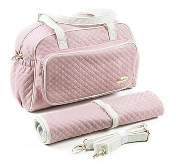 Amazon.com: Bebé Bolsa de Pañales de Jolie Le Bebezon rosa ...