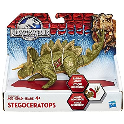 Hasbro® Jurassic World™, Bashers & Biters Stegoceratops Figure - Item #B1272AS0