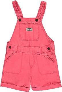 OshKosh Little Girls' Toddler 'Braided Straps' Shortalls