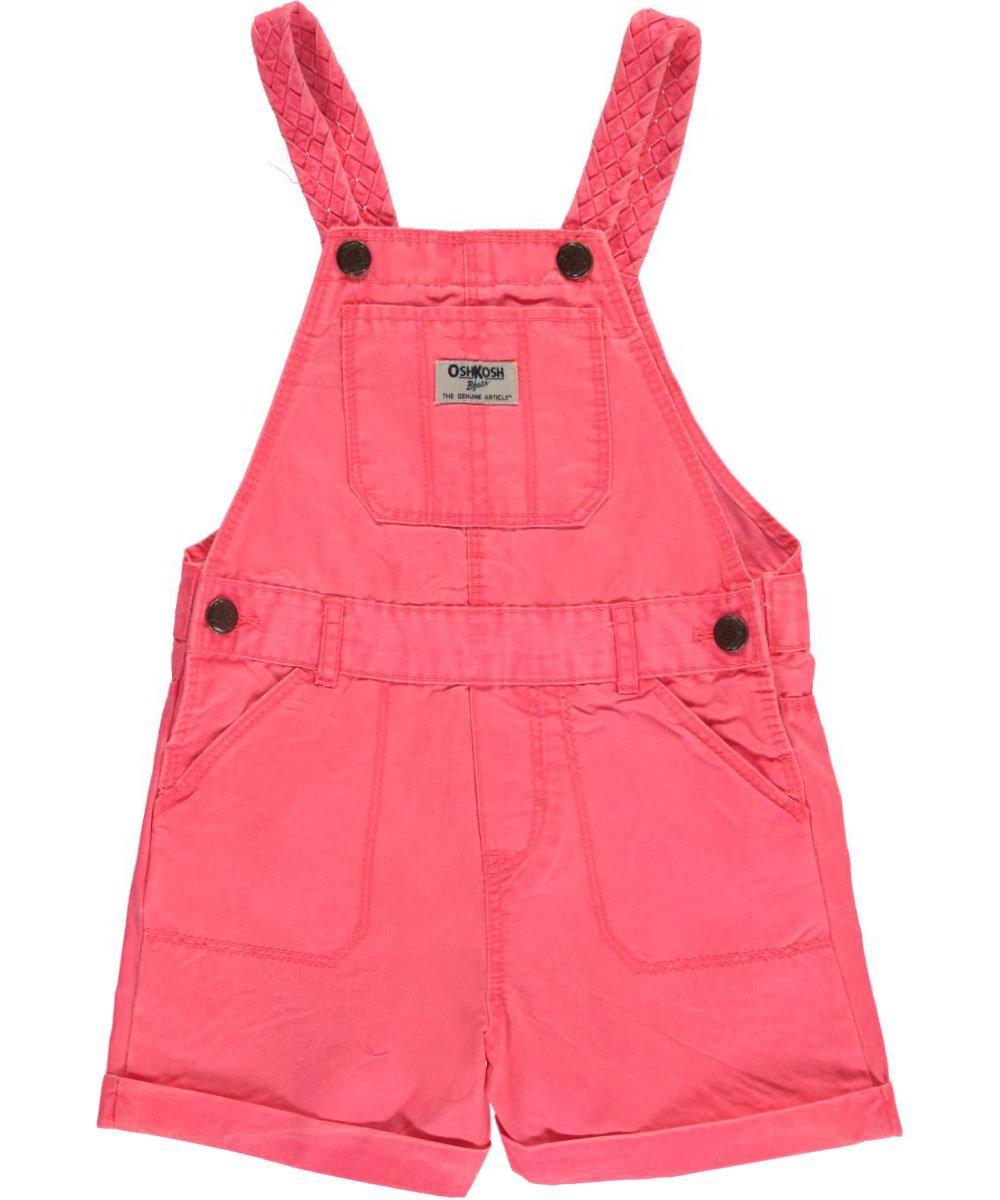 OshKosh Little Girls' Toddler Braided Straps Shortalls