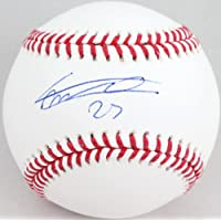 $155 » Vladimir Guerrero Jr. Autographed Rawlings OML Baseball-Beckett W Auth Blue