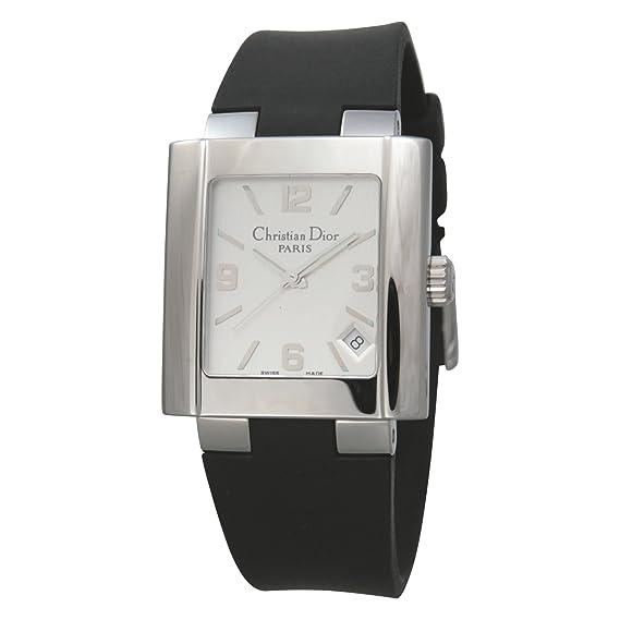 new style a56e0 511bb Amazon | [ディオール]ディオール 腕時計 リバ XL ラバーベルト ...