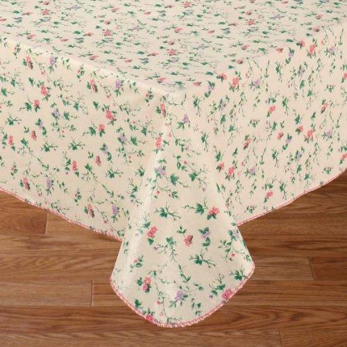 Amazon.com: Vine Time Flannel Backed Vinyl Tablecloth, 52x70 Oblong ( Rectangle): Home U0026 Kitchen