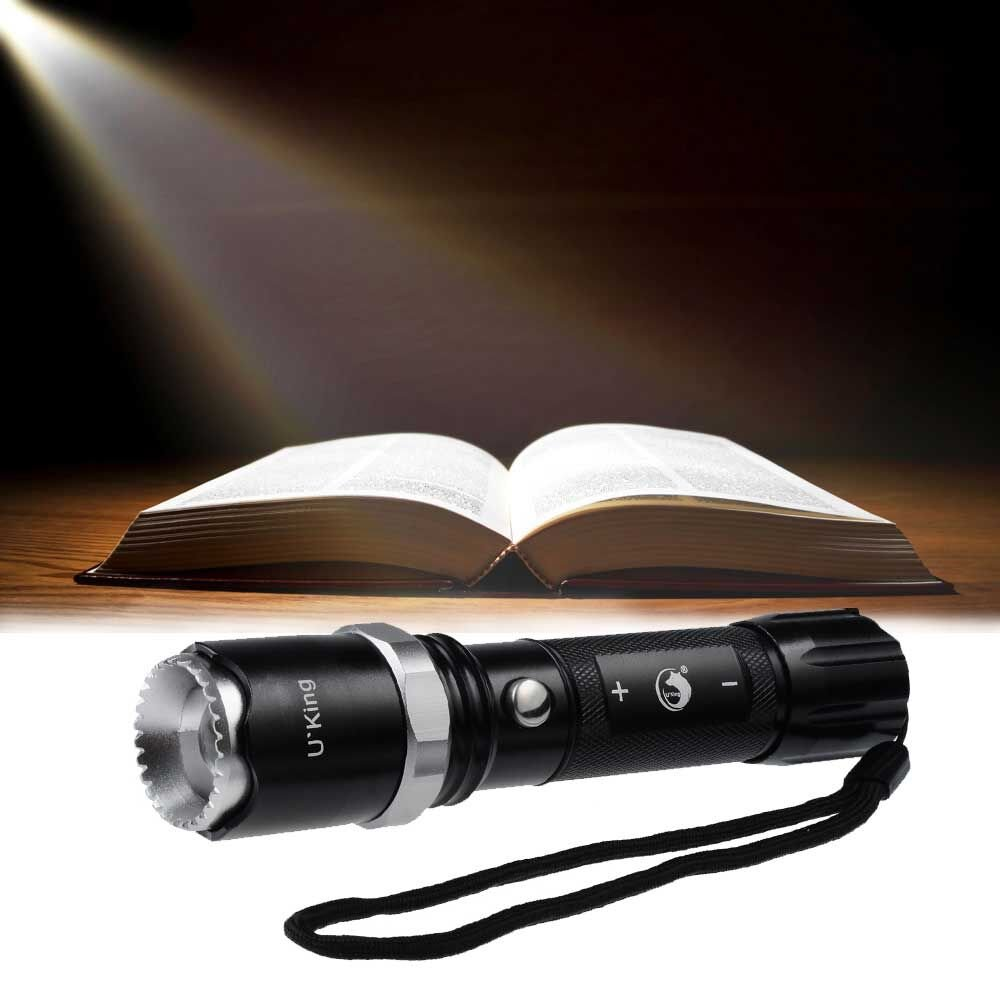 Rechargeable Flashlight, 1000 Lumens LED Torch with Charge and 5 Light Modes by U`King by U`King