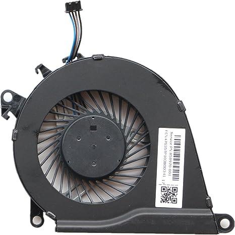 DXCCC 858970-001 Ventola di raffreddamento CPU per HP 15-bc 15-BC011tx 15-BC012tx 15-BC013tx 15-bc032tx 15-bc229tx 15t-bc200tx 15-BC217tx 15-BC219tx 15-bc250na 15-bc251na 15-bc350sa CPU fan