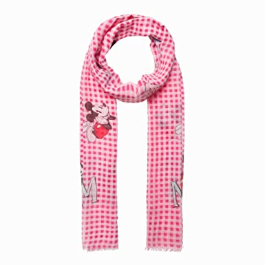 8eab8ea4ce Codelo Mickey and Minnie Mouse Paris Scarf Pink: Amazon.co.uk: Clothing