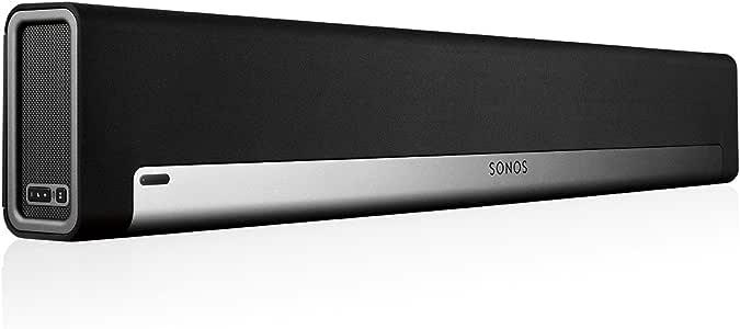 Sonos PLAYBAR Wireless Soundbar for Home Cinema and Music Streaming, Black, (PLAYBAR)