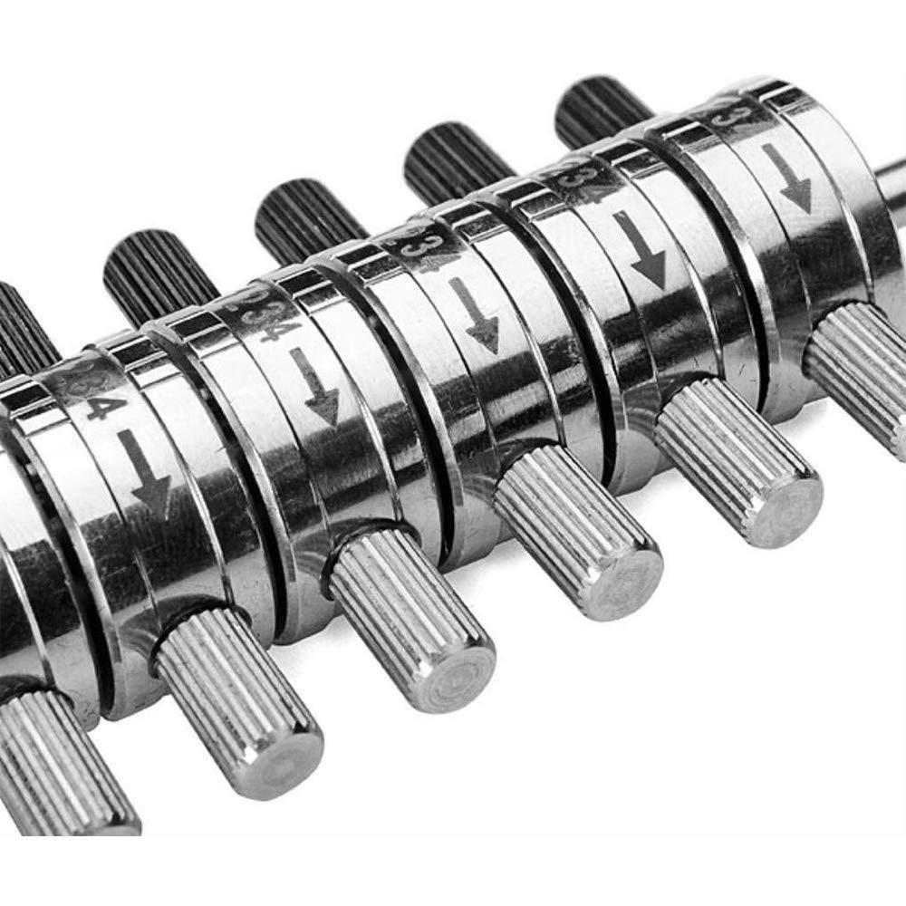 Loboo Idea Premium Ford Tibbe Lock Pick//Decodificador con funda de cuero 6 cilindros Reader Automotive Lock Pick Tools Locksmith Herramientas