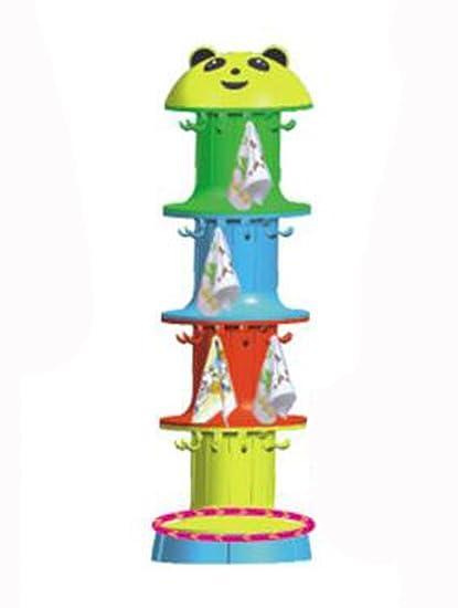 Jardín De Infancia Formas De Animales De Dibujos Animados Plástico Toallas Categoría De Bienes En Existencia