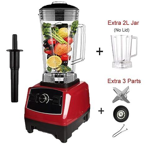 Amazon.com: Eu/Us Plug 2200 W mezclador mezclador comercial ...