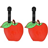 Fruit Luggage Tag Bright Travel ID Label (Set of 2)