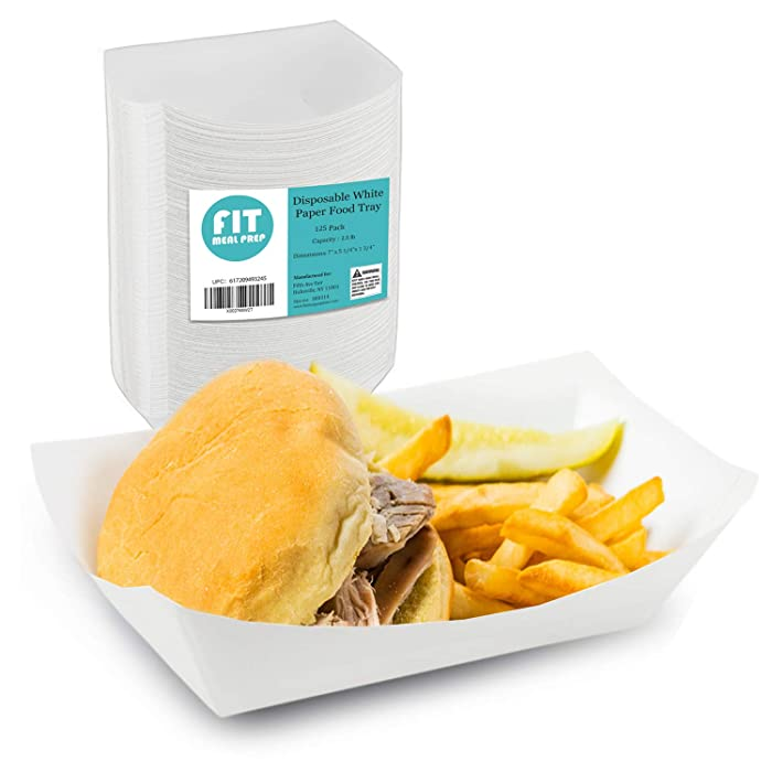 Top 8 Food Tray Disposable 25 Pound