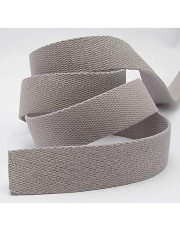 STEPHANOISE - Cinta para cinturón (algodón, 25 mm de Ancho, para Bolsos,