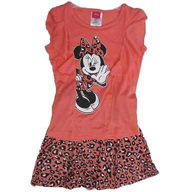 Disney Niñas Minnie Juego de lunares 2 pieza falda Impreso de ...