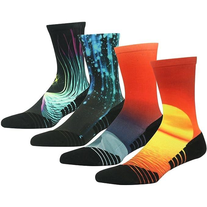 HUSO Unisex Fashion Digital Printing Sports Socks