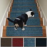 Stair Treads Non-Slip Carpet Indoor Set of 13
