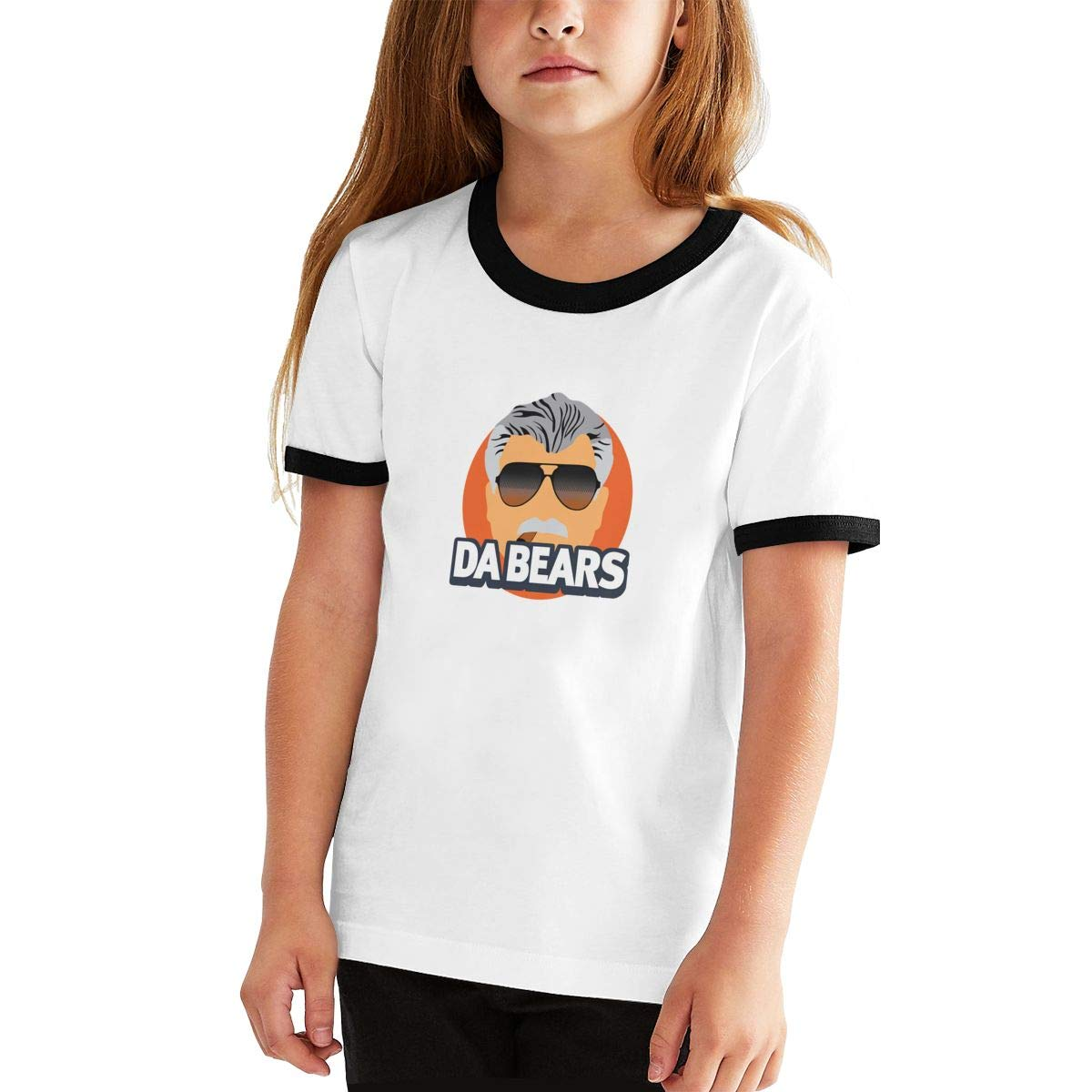 Kids Or Little Boys and Girls Da Bears Ditka Unisex Childrens Short Sleeve T-Shirt