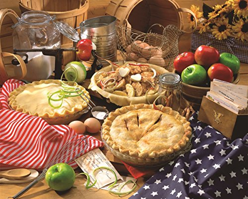 Apple Puzzle - Springbok Puzzles - Apple Pie - 1500 Piece Jigsaw Puzzle - Large 36 Inches by 28.75 Inches Puzzle - Made in USA - Unique Cut Interlocking Pieces