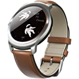 Ticwatch 2 Classic 42mm Smartwatch-Oak-Mobvoi Voice Contral Ticwear OS Compatible with Android  and iOS,Personal Assistant on your wrist